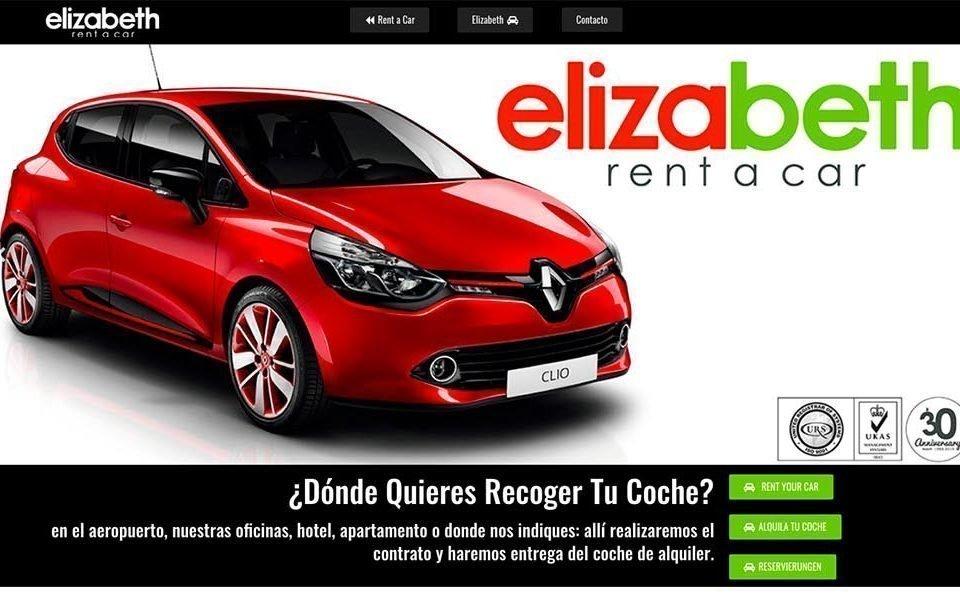"""Diseño y Desarrollo Web """"Rent a Car Elizabeth"""""""
